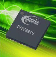 Equalizing Cable Transceiver supports 1-10.5 Gbps data rates.