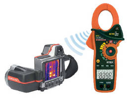 Clamp Meter transmits readings to FLIR IR cameras.