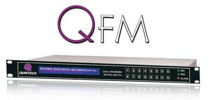 Quintech Launches Their New 16 x 16 RF Combining Matrix Switch the QFM!