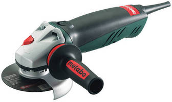Compact Angle Grinder offers quick, safe wheel change system.