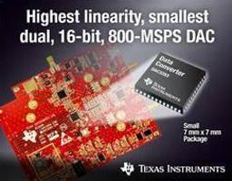 Interpolating DAC offers 16-bit, 800 MS/sec operation.