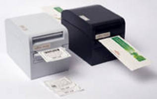Thermal Label/Ticket Printer offers output up to 260 mm/sec.