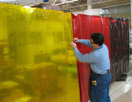 Interlocking Safety Curtains protect against flash, debris.