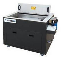 Aqueous Parts Washer eliminates need for solvent cleaners.