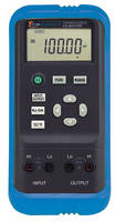 Handheld Calibrator measures 8 types of thermocouples.