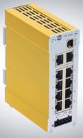 Unmanaged Ethernet Switch supports USB-based configuration.