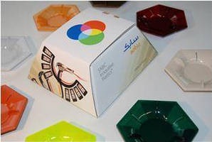 LED Elements are made from array of Lexan(TM) resins.