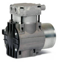 Brushless DC Pump features variable output in compact design.