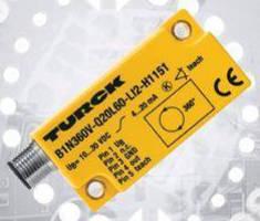 Single-Axis MEMS Inclinometer detects tilt over 360° range.