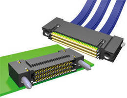 Coax Cable Assembly features single-ended routing,.