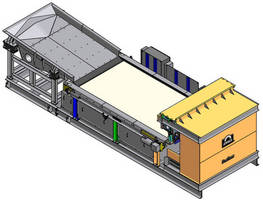Airless Metal Recovery System helps reduce waste.