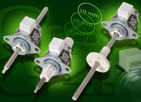 Stepper Motor Linear Actuator is offered in 3 configurations.