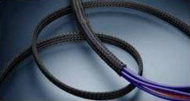 Expandable, Braided Polyester Sleeves protect wires and cables.