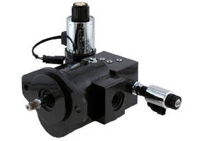 Cast Iron Gear Motor features reversing functionality.