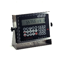 Digital Weight Indicator holds up to 200 measurements.