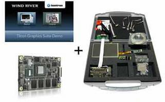 Computer-on Module Starter Kit supports Wind River VxWorks.