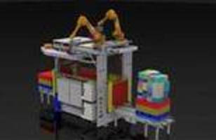 Modular Robotic Picking System handles mixed load pallets.