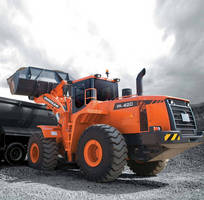 Wheel Loader features 280 hp, Tier 3 compliant engine.