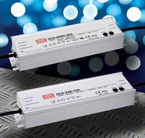LED Power Supplies are IP65/IP67 rated for street lighting applications.