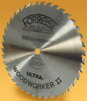 Saw Blade minimizes woodworking waste.