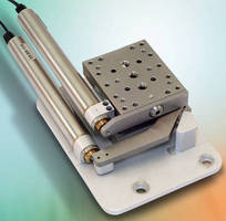 Motorized XY Stages have compact footprint for tight areas.