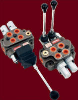 Hydraulic Loader Valve controls 2 separate functions.
