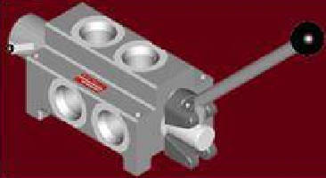 Manual Selector Valve is rated to 5,000 psi.