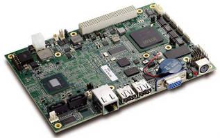 Ruggedized EPIC SBC features dual-core Intel® Atom(TM) CPU.