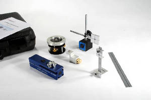 Laser Alignment Kit helps set straight machinery runs.