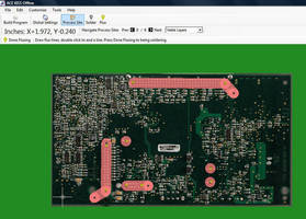 Soldering Programming Software imports PCB assembly data.