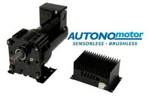 Sensorless DC Gearmotors offer up to 300 lb-in. continuous torque.