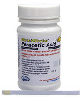 Peracetic Acid Test Strips are safe and easy to use.