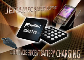 Switch-Mode Battery Charger ICs have programmable voltage level.