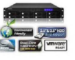 Rackmount NAS Server features cloud-ready design.