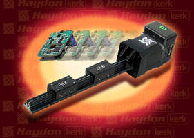 Motorized Linear Rail comes pre-assembled with actuator.
