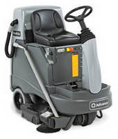 Large Area Riding Vacuum features HEPA-filtration.