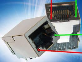 RJ45 Jack integrates magnetic filter, LED light pipes.