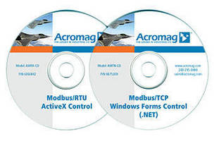 ActiveX/.NET Software easesVisual Basic and Visual C++ communication interface.