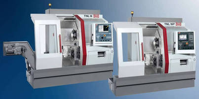 Sliding Headstock Automatic Lathe suits Swiss, production turning.