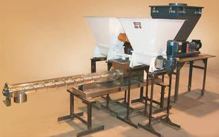 Continuous Mixer proportionally blends dry bulk materials.