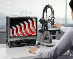 Digital Microscope provides precision measurement.