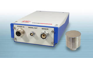 Thickness Measurement Sensor has dual sensor design.