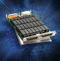 Reed Relay Matrix Card offers 448 single-pole crosspoints.
