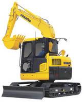 Hydraulic Excavator promotes productivity, operator comfort.