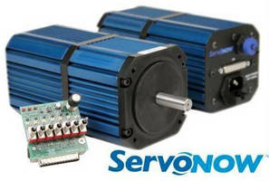 Integrated Servo System delivers plug-and-play operation.