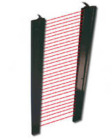 Safety Light Curtains enable secure operation of industrial doors.