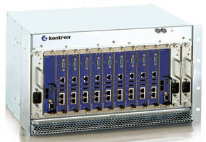 Multi-Core MicroTCA Platforms support 10 Gbps switching.