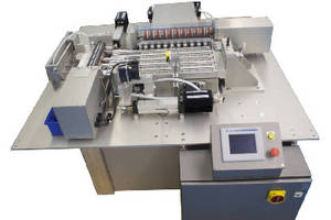 Medical Test Strip Cutter uses optic registration sensor for accuracy.