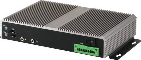 Embedded Digital Signage Player features compact design.
