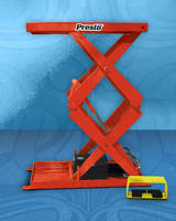 Compact Scissor Lifts offer 2,000 lb capacity.